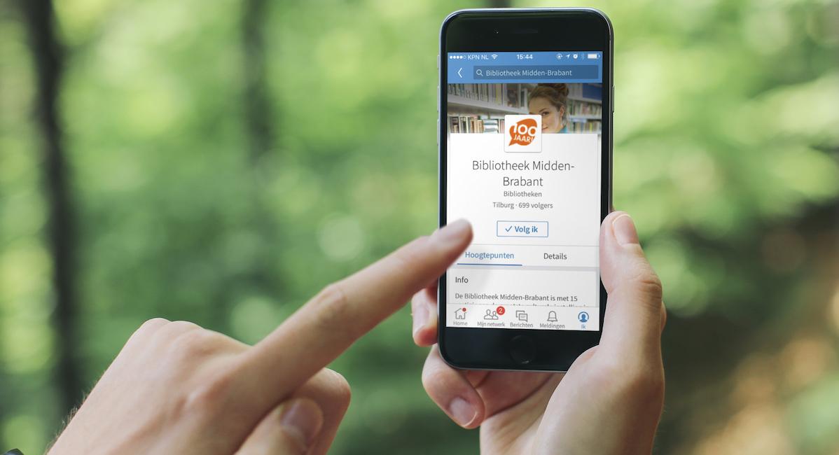 Social marketing advertising linkedin